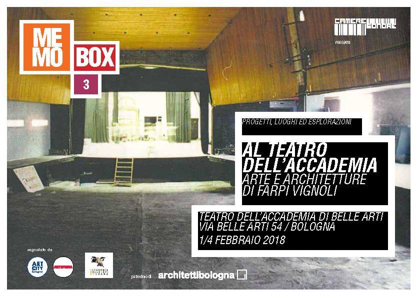 MEMOBOX 3 farpi teatro - con note
